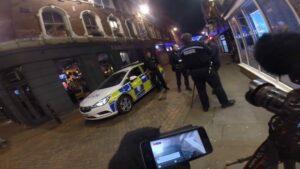 police nottingham city centre photgrapher
