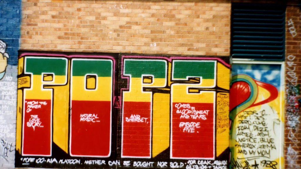 nottingham graffitti video