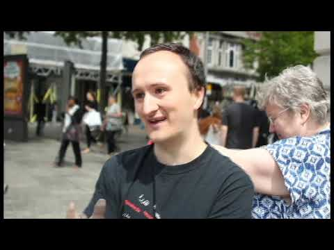 protesting market square nottingham vlog