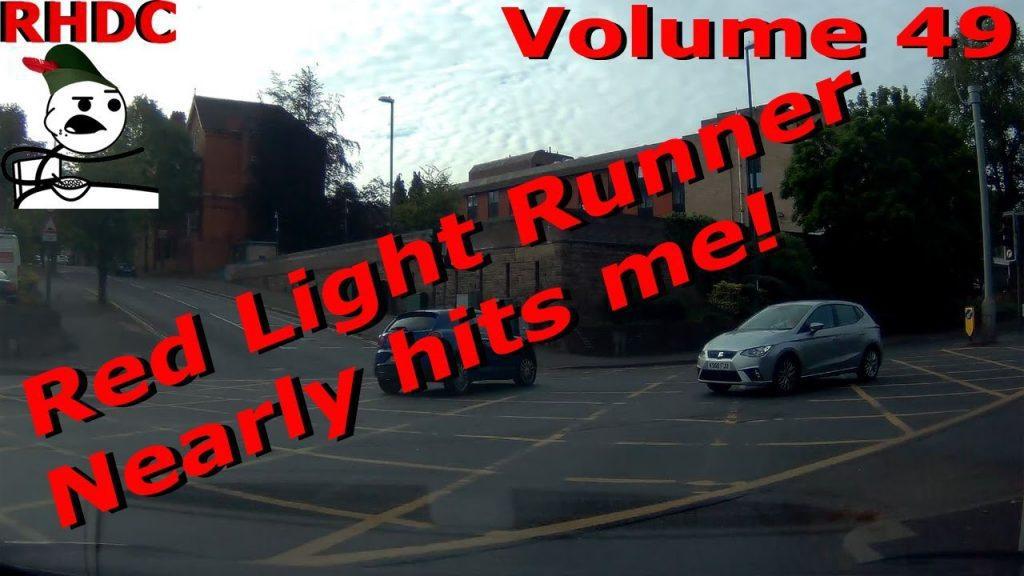 funny crazy drivers roads near miss nottingham robin hood