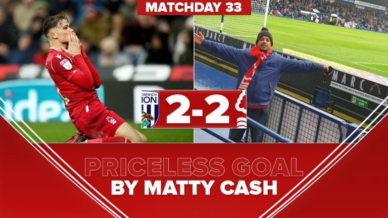 West Bromwich vs Nottingham Forest Vlog #nffc