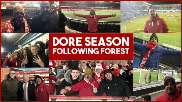 Nottingham Forest Fans Vlog Journey #nffc