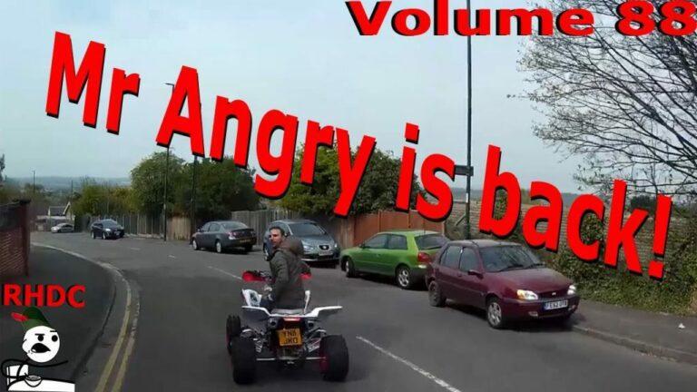 Quad Bike Roadrage #Nottingham #vlog