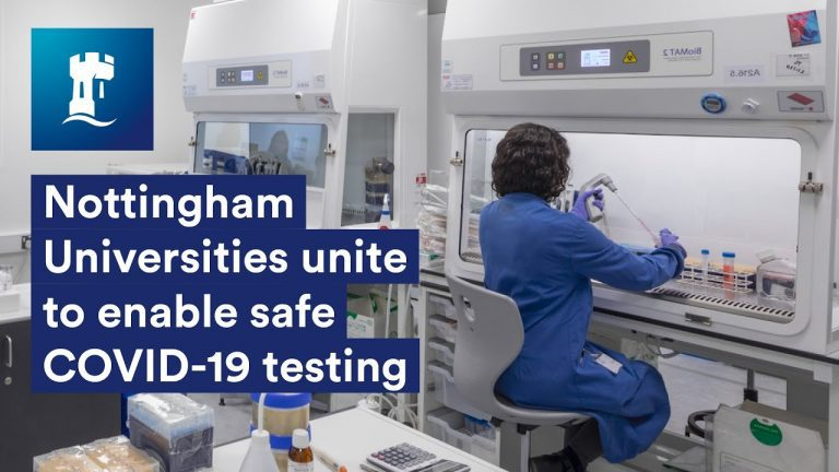 #Nottingham Uni will help COVID-19 Testing