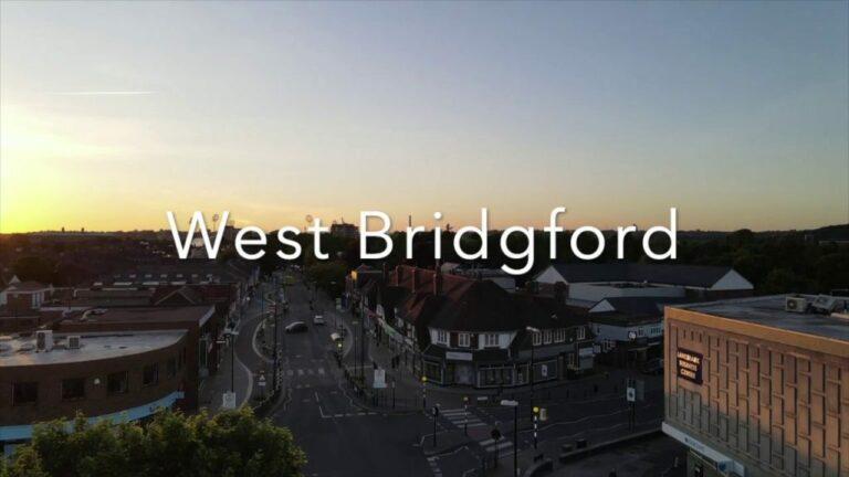 Westbridgford Drone aerial video #notts