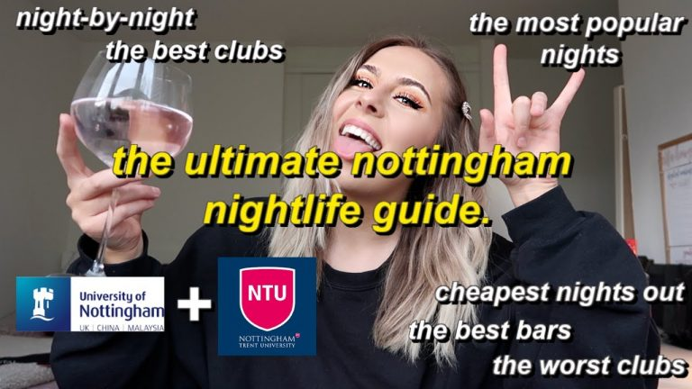 #uon #ntu Nightlife Students vlog