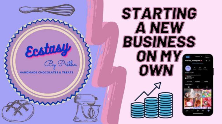 Vlogger Starts Small Business #notts