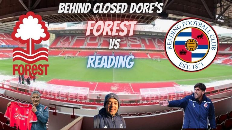 Forest Vs Reading #nffc