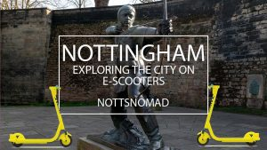 Nottingham vlog ft. Scooters #notts