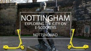 Nottingham vlog ft. Scooters #notts