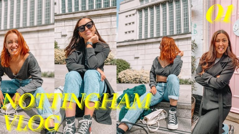 Nottingham Vlog – Hope & Mol #notts