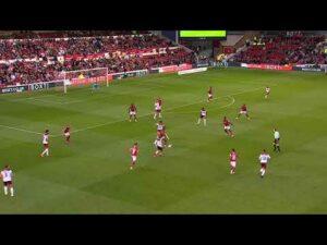 Nottingham Forest v Bradford City highlights