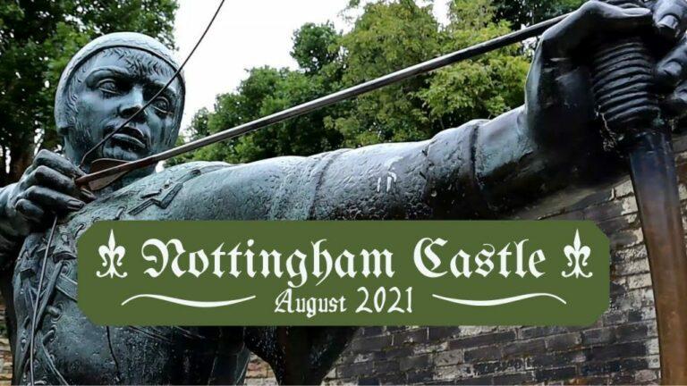 Nottingham Castle History Video with Tour