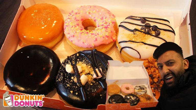 DUNKIN DONUTS REVIEW #nottingham