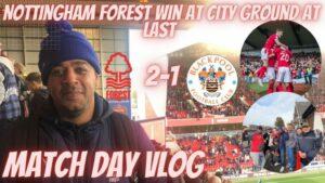 Nottingham Forest Vlog vs Blackburn #doreontour